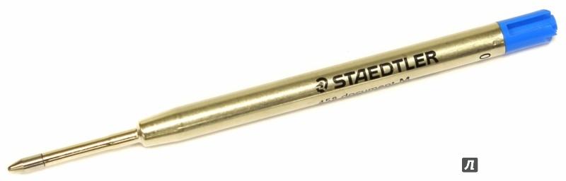 """Иллюстрация 1 из 2 для Стержень для шариковых ручек """"Jumbo"""" металлический, 0,5 мм, цвет синий (458M-3)   Лабиринт - канцтовы. Источник: Лабиринт"""