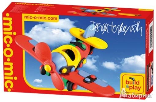 Иллюстрация 1 из 10 для Конструктор. Самолет. 57 деталей (485002/089.002) | Лабиринт - игрушки. Источник: Лабиринт