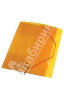 Папка A4 с резинкой, 40 мм., желтая 0.70 мм (SB40TW-02)