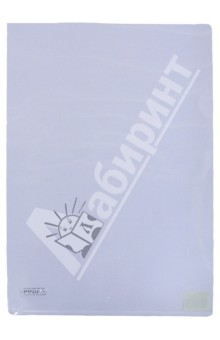 Папка-уголок A4, прозрачная 0.20 мм (CH510A/20-TF-00)