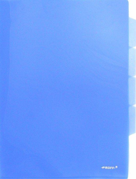 Иллюстрация 1 из 10 для Папка-уголок A4, с 3 отделениями, синяя (CH410-TF-04) | Лабиринт - канцтовы. Источник: Лабиринт