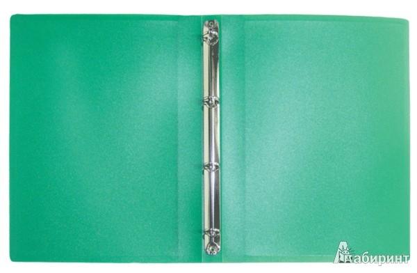 Иллюстрация 1 из 5 для Папка A4 4 кольца зеленая (RB 16-4-03) | Лабиринт - канцтовы. Источник: Лабиринт