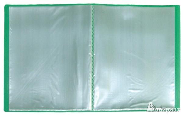 Иллюстрация 1 из 2 для Папка A4 с 10 вкладышами, зеленая (DB10AB-03) | Лабиринт - канцтовы. Источник: Лабиринт