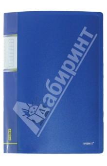 Папка A4 с 20 вкладышами, синяя (DB20AB-04)