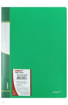 Папка A4 с 30 вкладышами, зеленая (DB30AB-03) папка с приж пласт proff next а4 0 60мм с торц и внутр карм синяя