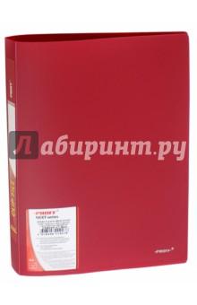 Папка A4 с боковым пружинным скоросшивателем, красная (CF903P-01)
