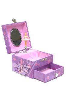 Шкатулка музыкальная Балерина с пуантами (20000) шкатулки trousselier музыкальная шкатулка wooden box девочка и панда