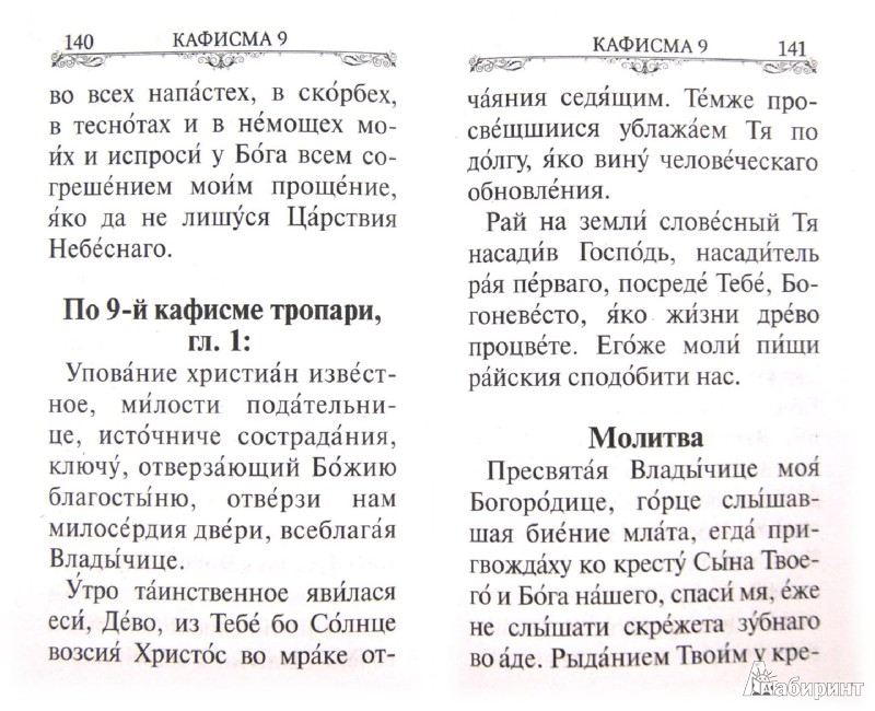 Иллюстрация 1 из 15 для Псалтирь Пресвятой Богородице. Крупный шрифт | Лабиринт - книги. Источник: Лабиринт