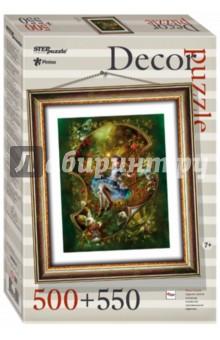 Купить Puzzle-500+рамка Алиса (98021), Степ Пазл, Пазлы (400-600 элементов)