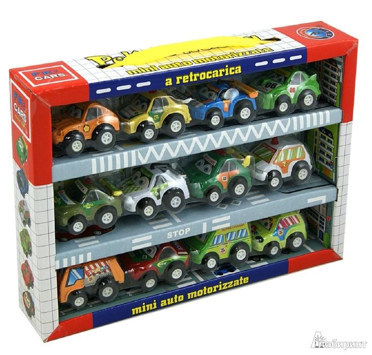 Иллюстрация 1 из 4 для Набор инерционных машинок, 12 штук в коробке (2812-12А) | Лабиринт - игрушки. Источник: Лабиринт