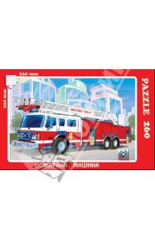 Пазл, 260 элементов, Пожарная машина (К-26007) универсальная вибрационная машина энкор мфэ 260 1 12 50271