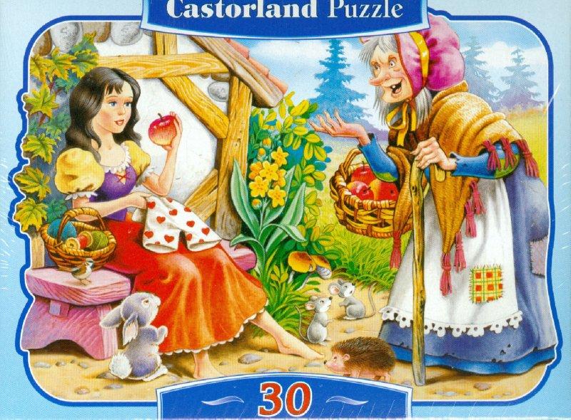 """Иллюстрация 1 из 8 для Puzzle-30 MIDI """"Спящая красавица"""" (В-03013)   Лабиринт - игрушки. Источник: Лабиринт"""
