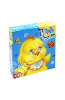 Купить Развивающая мозаика Цыпленок , 16 деталей, MAXI (2391), Дрофа Медиа, Пазлы (Maxi)