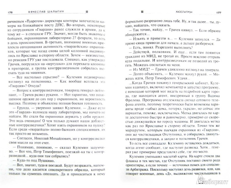 Иллюстрация 1 из 7 для Хаоспатрон - Вячеслав Шалыгин | Лабиринт - книги. Источник: Лабиринт