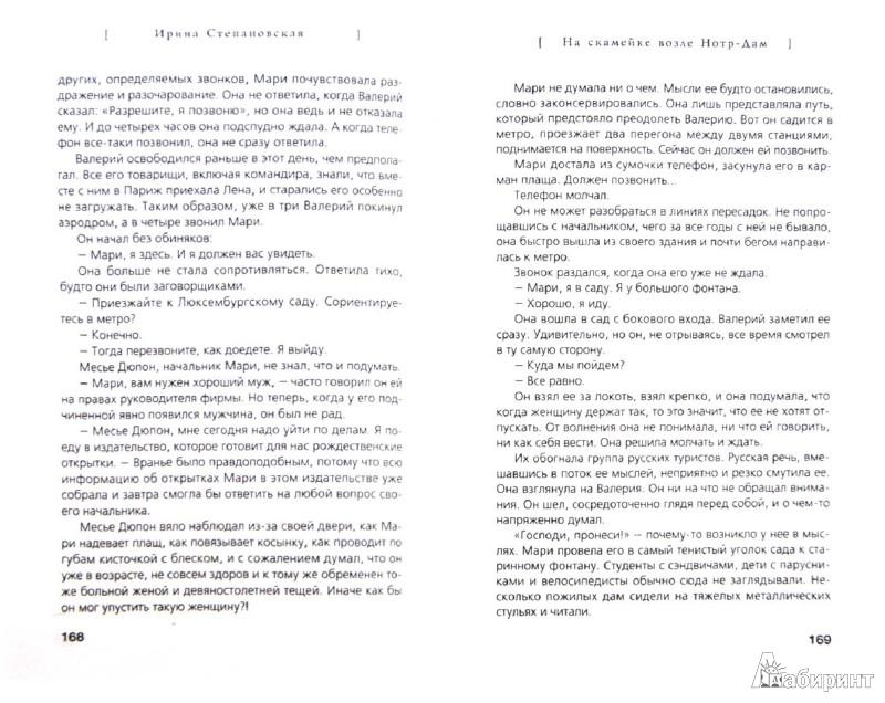 Иллюстрация 1 из 6 для На скамейке возле Нотр-Дам - Ирина Степановская | Лабиринт - книги. Источник: Лабиринт
