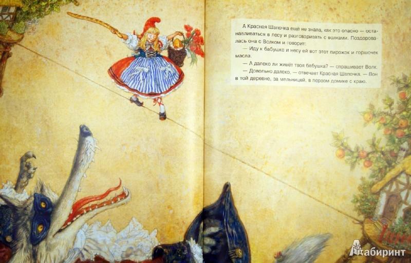 Иллюстрация 1 из 99 для Красная Шапочка - Шарль Перро | Лабиринт - книги. Источник: Лабиринт