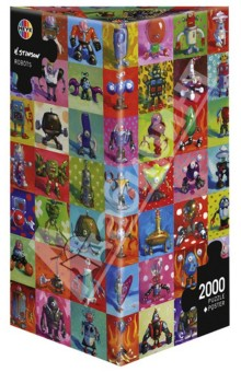 Puzzle, 2000 элементов Роботы, Stonson (29576) puzzle 2000 рододендроны adamus 29662