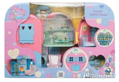 Иллюстрация 1 из 2 для Игровой дом Тати Тедди (35621) | Лабиринт - игрушки. Источник: Лабиринт