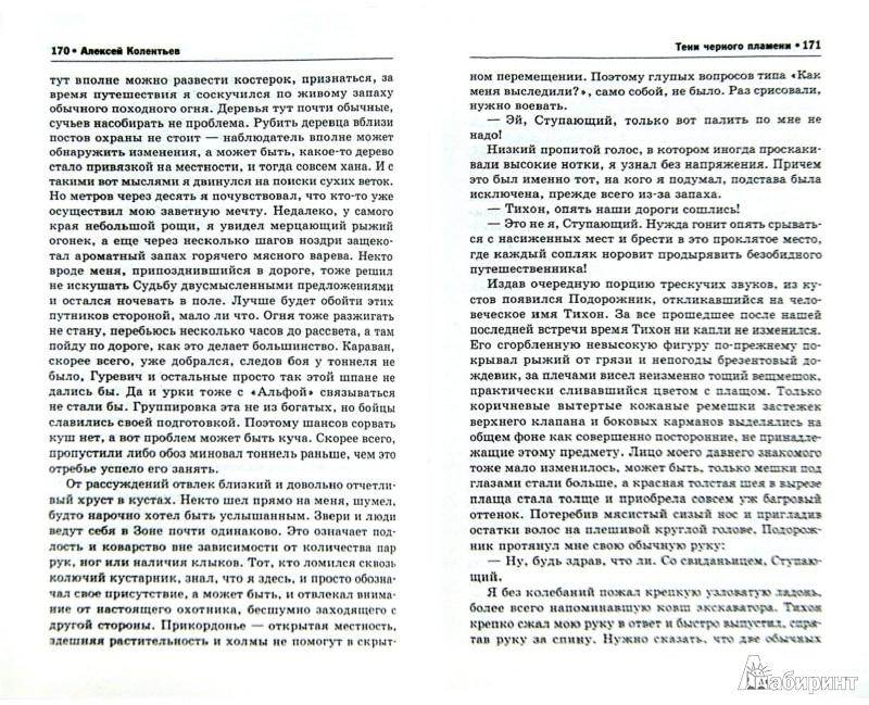Иллюстрация 1 из 7 для Тени черного пламени - Алексей Колентьев | Лабиринт - книги. Источник: Лабиринт