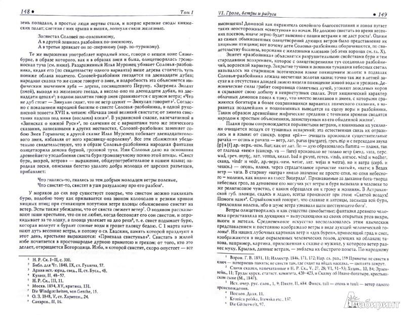Иллюстрация 1 из 8 для Поэтические воззрения славян на природу. В 3-х томах. Том 1 - Александр Афанасьев | Лабиринт - книги. Источник: Лабиринт