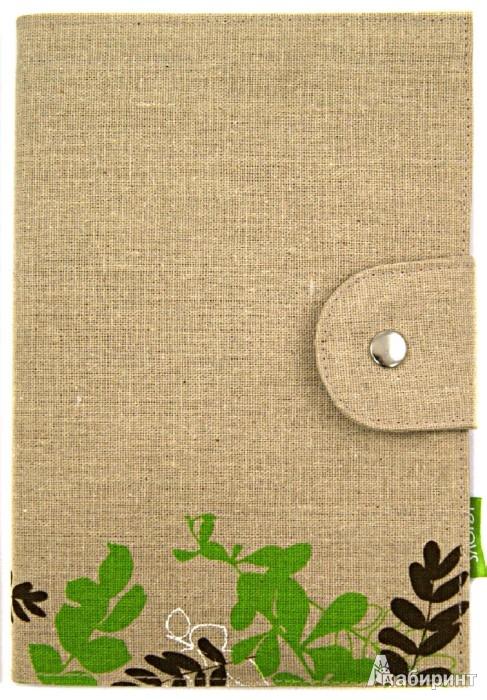 Иллюстрация 1 из 4 для Блокнот с хлопко-льняной обложкой А5 (070024) | Лабиринт - канцтовы. Источник: Лабиринт