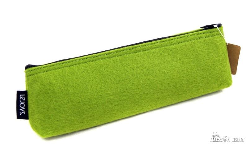 Иллюстрация 1 из 3 для Пенал на молнии. Зеленый (070048)   Лабиринт - канцтовы. Источник: Лабиринт
