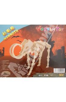 Настольная игра Динозавры. Мамонт. 3D Деревянные Пазлы