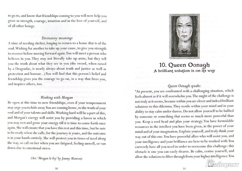 Иллюстрация 1 из 10 для Oracle of the Dragonfae (книга + 43 карты) - Lucy Cavendish   Лабиринт - книги. Источник: Лабиринт