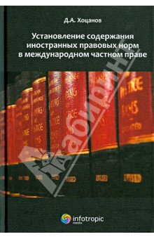 Установление содержания иностранных правовых норм в международном частном праве цена и фото