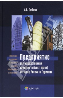 Предприятие как имущественный комплекс (объект права) по праву России и Германии как телефон в германии