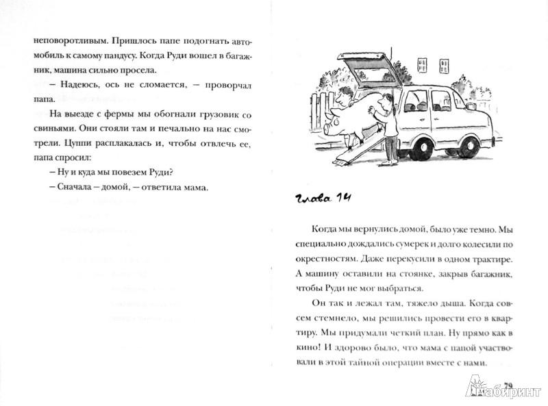 Иллюстрация 1 из 19 для Руди-Пятачок - Уве Тимм | Лабиринт - книги. Источник: Лабиринт