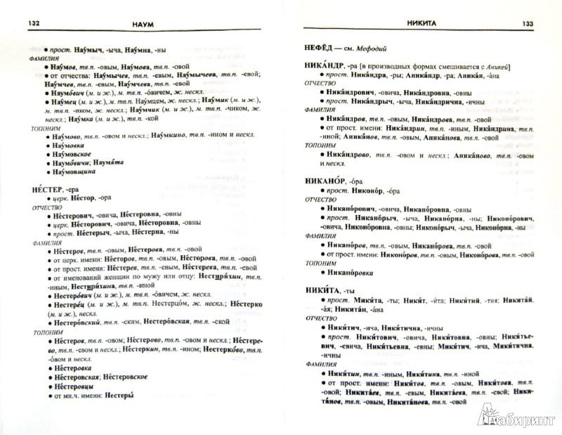Иллюстрация 1 из 9 для Словарь личных имен. Более 300 единиц - Александра Суперанская | Лабиринт - книги. Источник: Лабиринт