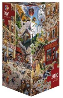 Купить Puzzle-2000 Апокалипсис (29577), Heye, Пазлы (2000 элементов и более)