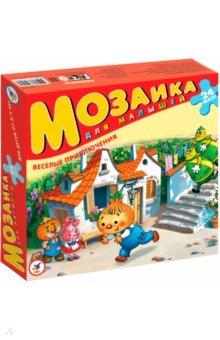 """Мозаика для малышей """"Веселые приключения"""" (24 детали) (2405)"""