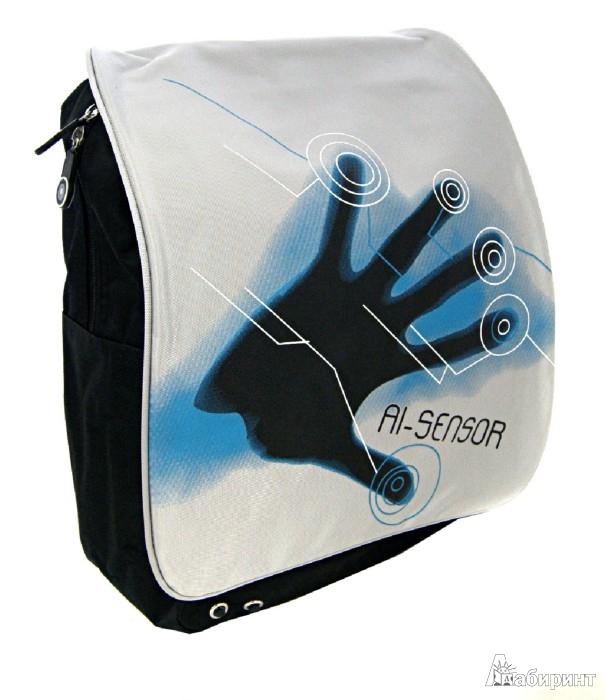 """Иллюстрация 1 из 6 для Рюкзак """"Sensor"""" на одной лямке. С отделением для ноутбука (830554)   Лабиринт - канцтовы. Источник: Лабиринт"""