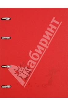 Тетрадь 120 листов, клетка Froggy с кольцевым механизмом (№302/red) тетрадь со сменным блоком 120 листов клетка blue 83329
