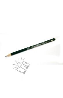 Карандаш чернографитовый CASTELL 9000 2B (119002) Faber-Castell