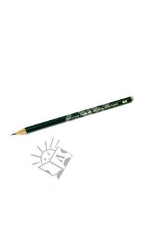 Карандаш чернографитовый  CASTELL 9000 H (119011)