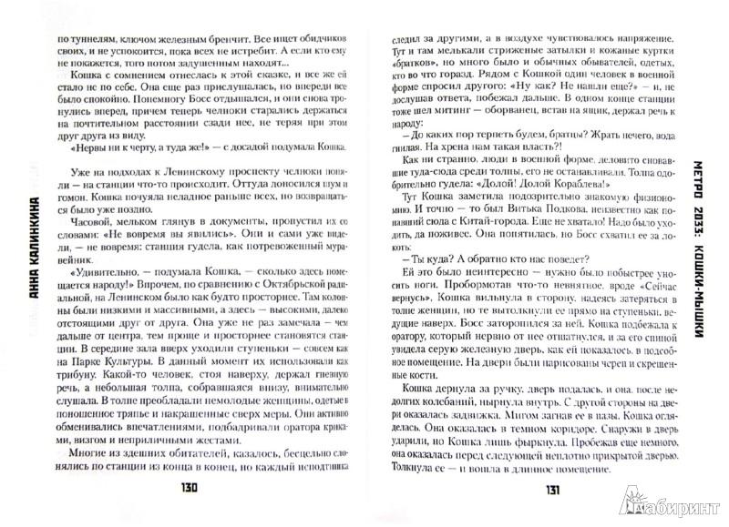 Иллюстрация 1 из 26 для Метро 2033: Кошки-мышки - Анна Калинкина | Лабиринт - книги. Источник: Лабиринт