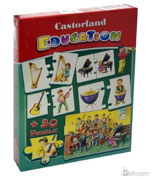 Иллюстрация 1 из 4 для Puzzle Музыкальные инструменты (Е-081) | Лабиринт - игрушки. Источник: Лабиринт