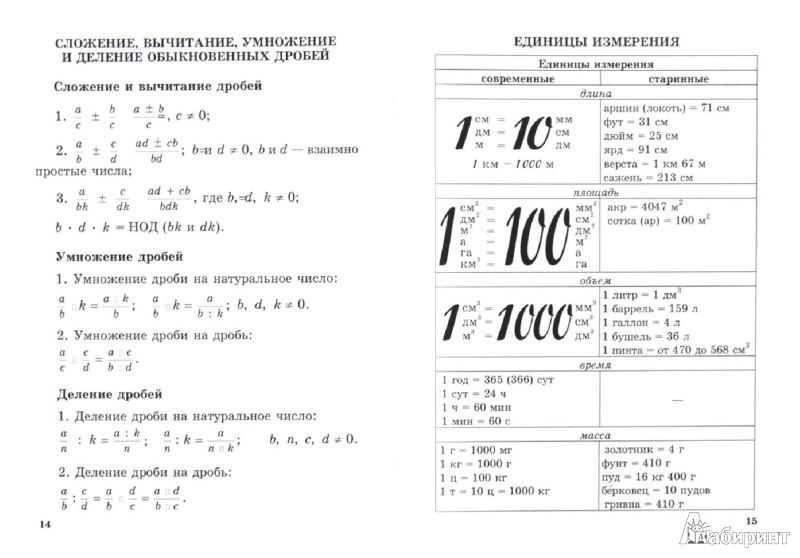 Иллюстрация 1 из 11 для Математика. 5 класс. Справочник для учащихся   Лабиринт - книги. Источник: Лабиринт