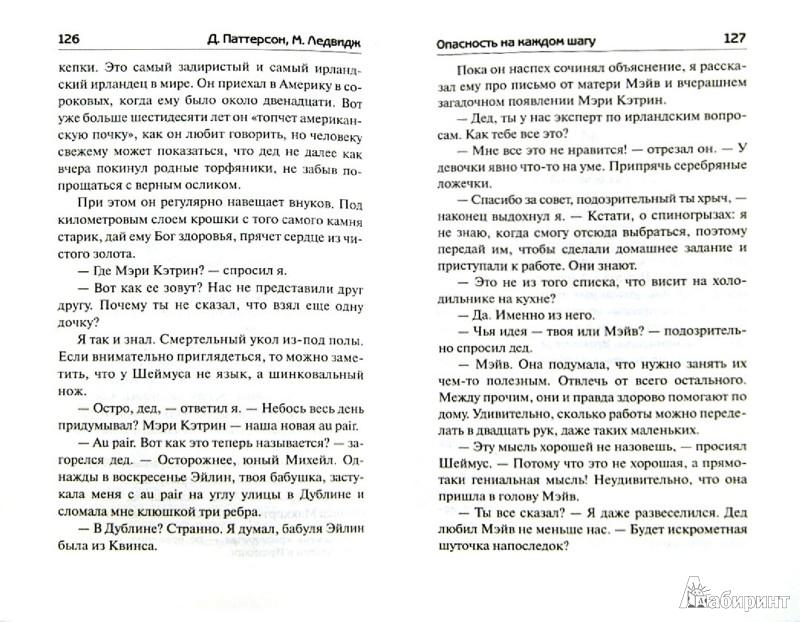 Иллюстрация 1 из 7 для Опасность на каждом шагу - Паттерсон, Ледвидж | Лабиринт - книги. Источник: Лабиринт