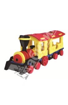 """3D пазл. Конструктор мягкий """"Экспресс поезд"""", 76 деталей (Т6011)"""