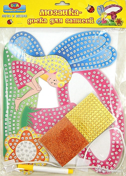 Иллюстрация 1 из 2 для Веселая мозаика, объемная мозаика из EVA (DT-1023) | Лабиринт - игрушки. Источник: Лабиринт