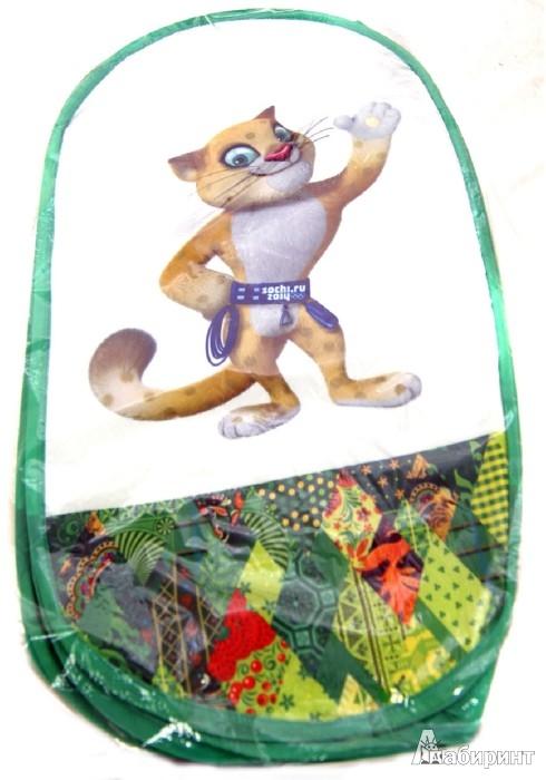 """Иллюстрация 1 из 2 для Корзина для игрушек """"Леопард"""" (GT6626)   Лабиринт - игрушки. Источник: Лабиринт"""