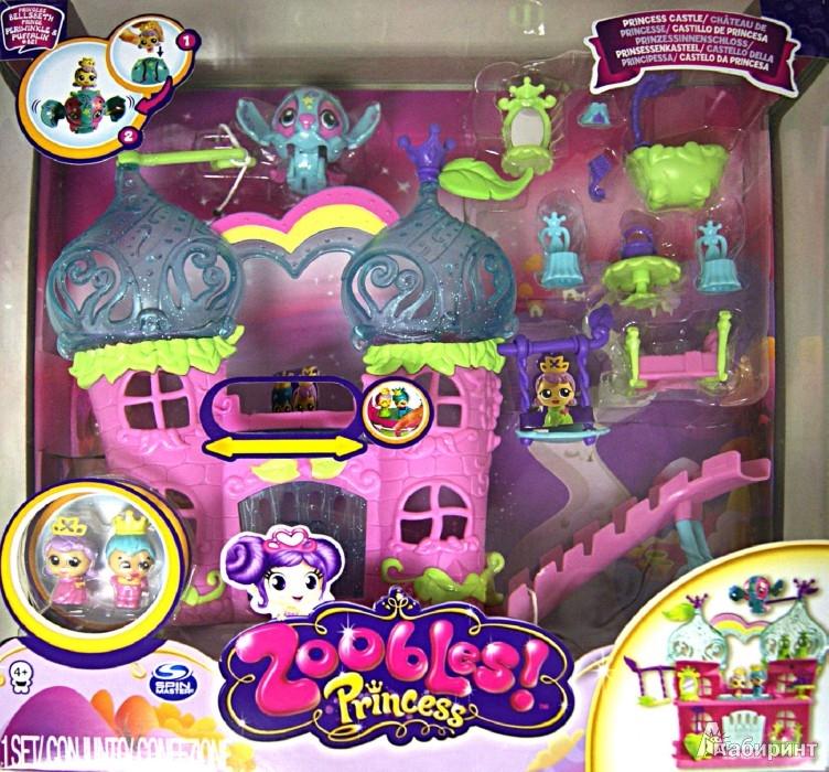 """Иллюстрация 1 из 2 для Набор с замком """"ZOOBLES"""" (13268)   Лабиринт - игрушки. Источник: Лабиринт"""