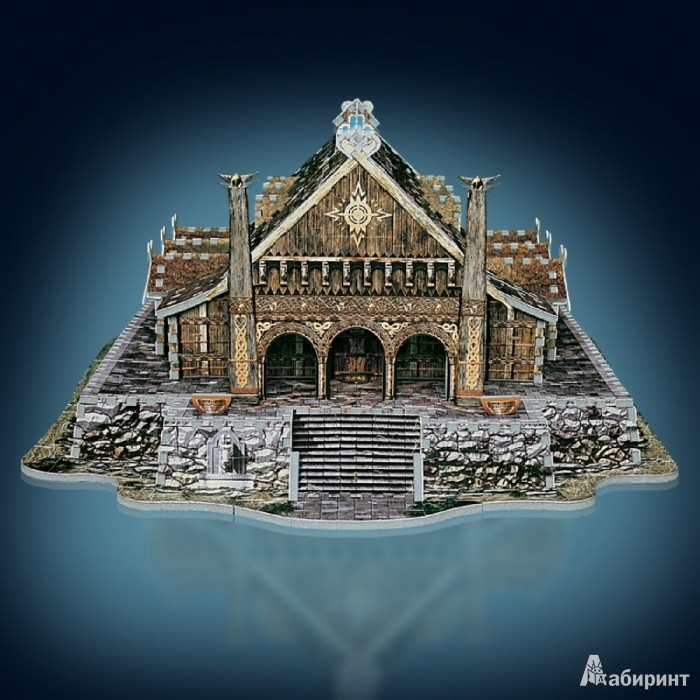 Иллюстрация 1 из 5 для W3D-2003 Пазл 3D Эдорас (742 дет.) | Лабиринт - игрушки. Источник: Лабиринт