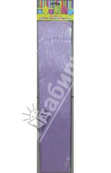 Бумага сиреневая перламутровая крепированная (30094)