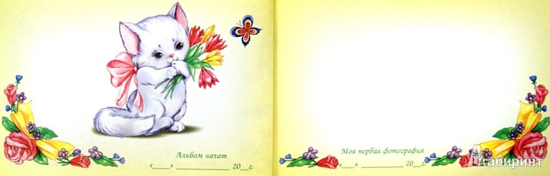 Иллюстрация 1 из 11 для Здравствуйте, Я родился! Альбом на память - Юлия Феданова | Лабиринт - сувениры. Источник: Лабиринт