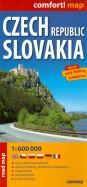 Czech Republic. Slovakia. 1:600 000